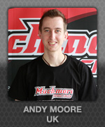 ANDY MOORE  (UK) Muchmore Racing Driver